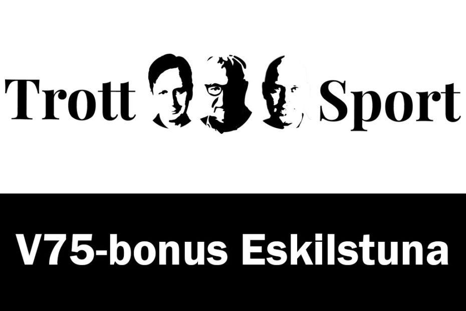 Trottosport bonusinnehåll till V75 på Eskilstuna